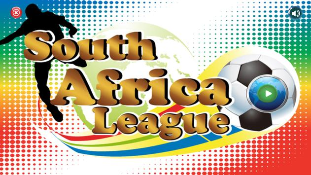 South Africa League poster
