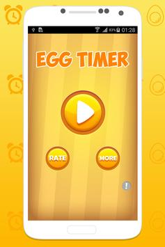Boiled egg timer poster