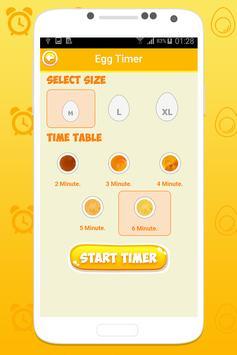 Boiled egg timer screenshot 1