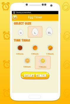 Boiled egg timer screenshot 2