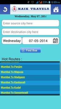 Naik Travels screenshot 2
