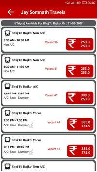 Jay Somnath Travels apk screenshot