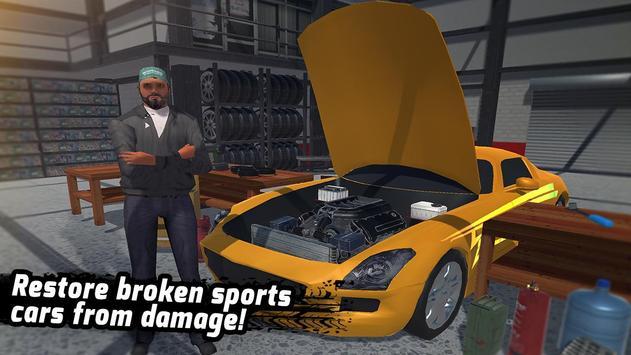 Sport Car Service Workshop: Pitstop Car Repair apk screenshot