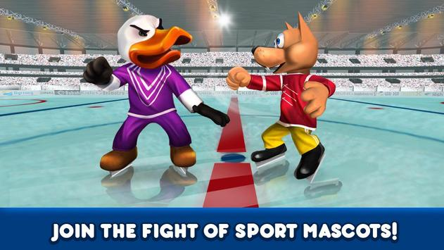 Ice Hockey Sports Fighting 3D screenshot 3