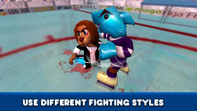 Ice Hockey Sports Fighting 3D screenshot 4