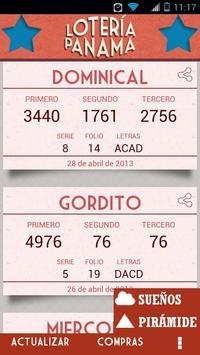 Lotería Panamá poster