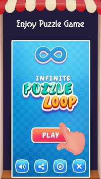 Infinite puzzle Loop'17 poster