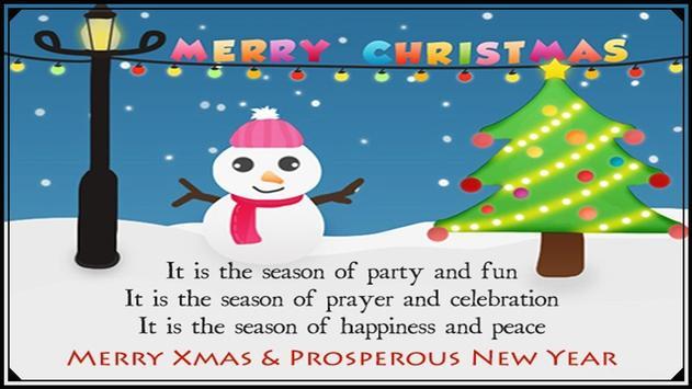 Christmas Greeting Cards 2016 apk screenshot