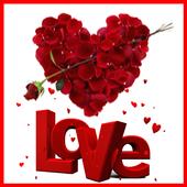 Valentine Wishes Card icon