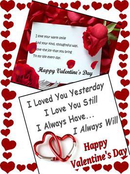 Valentine Wishes Card screenshot 1