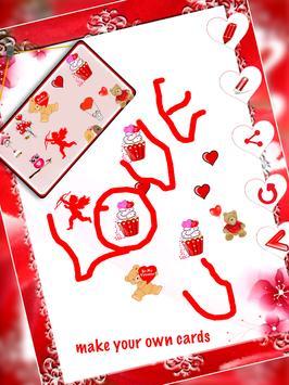 Valentine Wishes Card screenshot 2