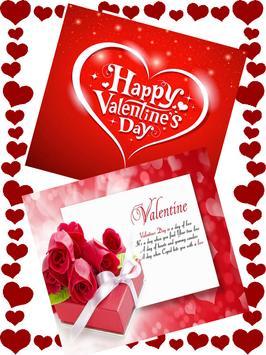 Valentine Wishes Card screenshot 3