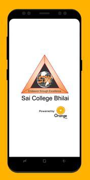 Sai College Bhilai poster