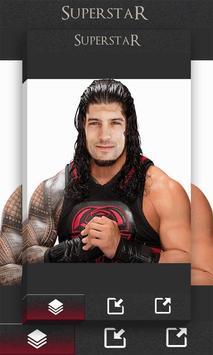 PHOTO EDITOR FOR WWE apk screenshot