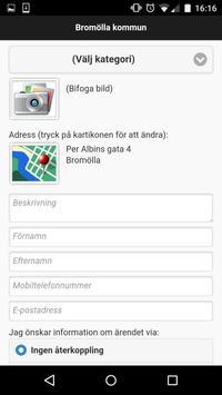Felanmälan Bromölla kommun apk screenshot
