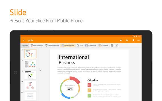 Polaris Office - Word, Docs, Sheets, Slide, PDF apk स्क्रीनशॉट