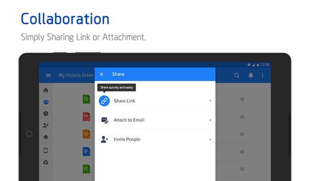 Polaris Office - Word, Docs, Sheets, Slide, PDF captura de pantalla de la apk