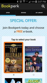 Bookperk daily e-book deals poster