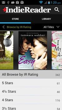 The IndieReader Bookstore apk screenshot