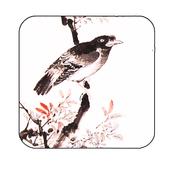 inkwash flower&bird wallpaper icon