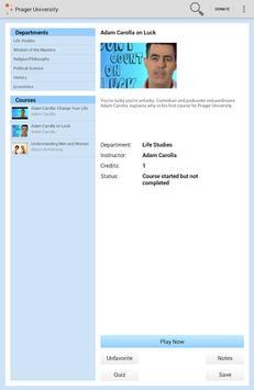 Prager University apk screenshot