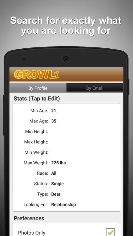 GROWLr: Gay Bears Near You for PC - Free Download: