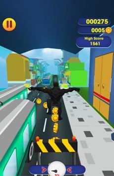 Black Panther Superhero Adventure Run screenshot 1