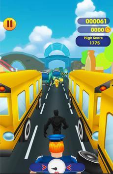 Black Panther Superhero Adventure Run screenshot 2