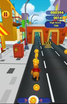 Winnie the Pooh Run Adventure City screenshot 3