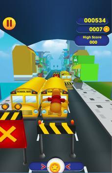 Winnie the Pooh Run Adventure City screenshot 2