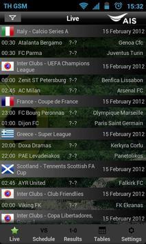 AIS Soccer Live poster