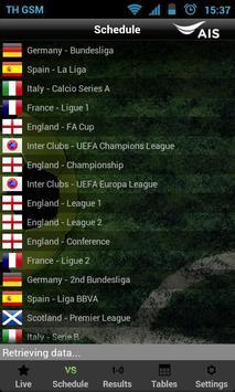 AIS Soccer Live screenshot 1