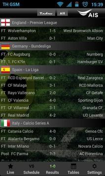 AIS Soccer Live screenshot 2