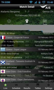 AIS Soccer Live screenshot 5