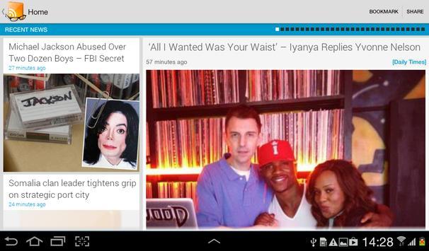 NewsBasket - News In Nigeria apk screenshot