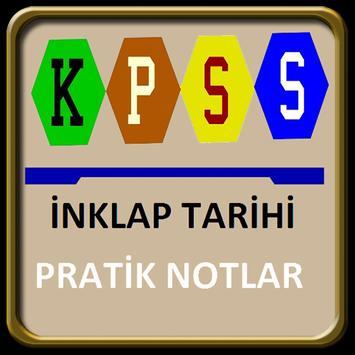 KPSS  İnkılap Tarihi poster