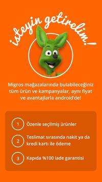 Migros Sanal Market poster