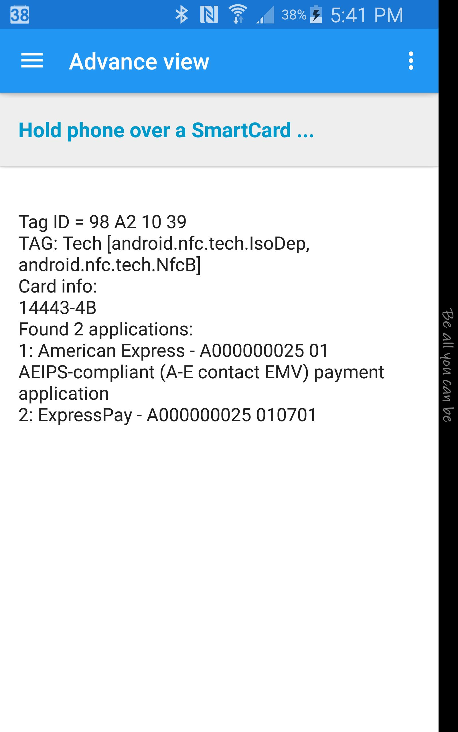 NFC Smart Card Info for Android - APK Download