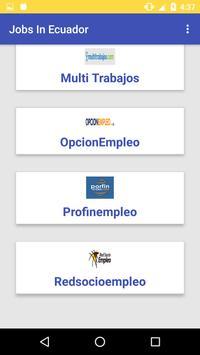 Jobs In Ecuador apk screenshot