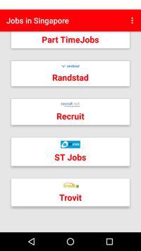 Jobs in Singapore apk screenshot