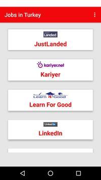 Jobs in Turkey apk screenshot