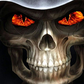 Images of skulls icon