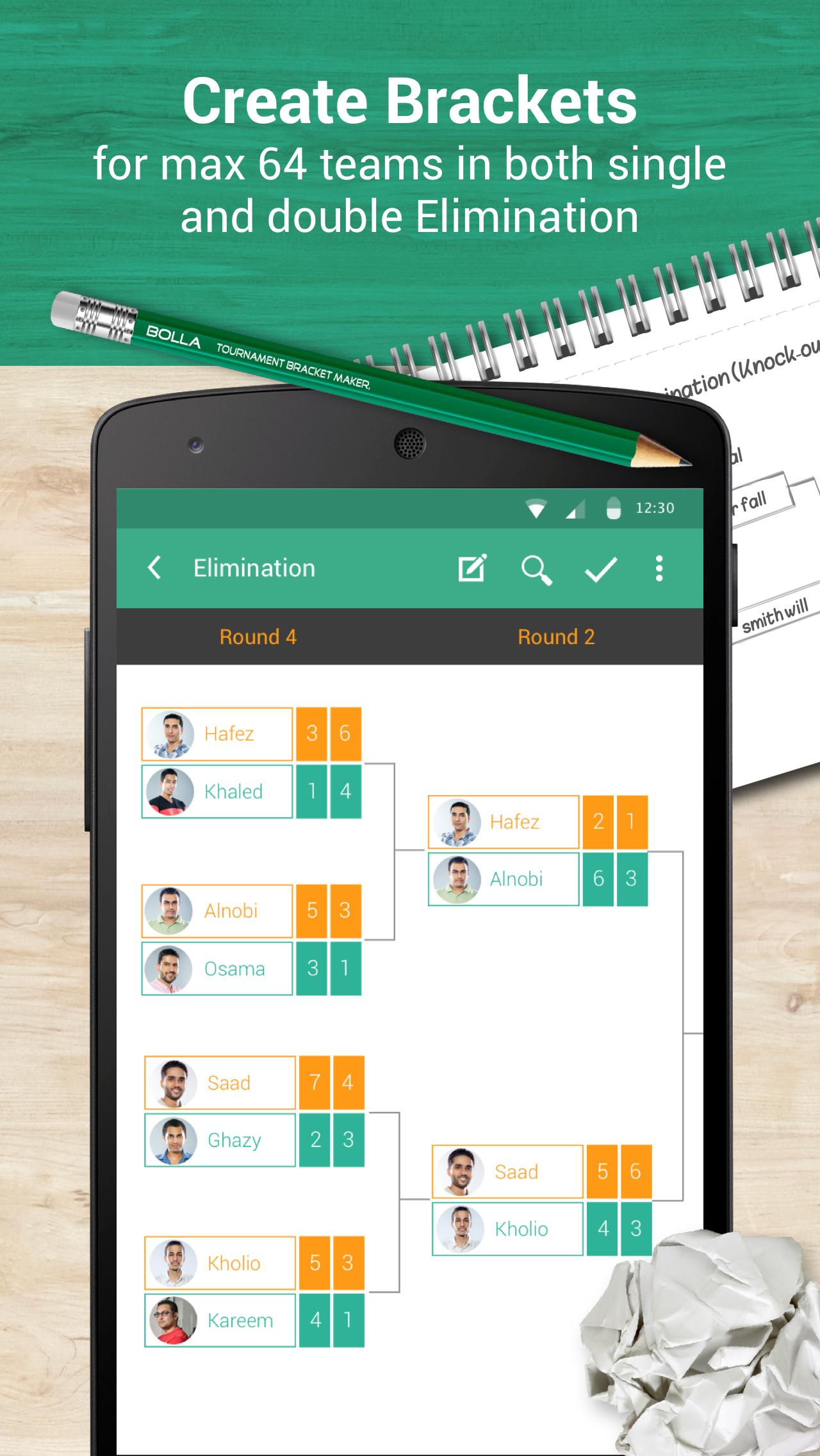 Bolla Tournament Bracket Maker for Android - APK Download