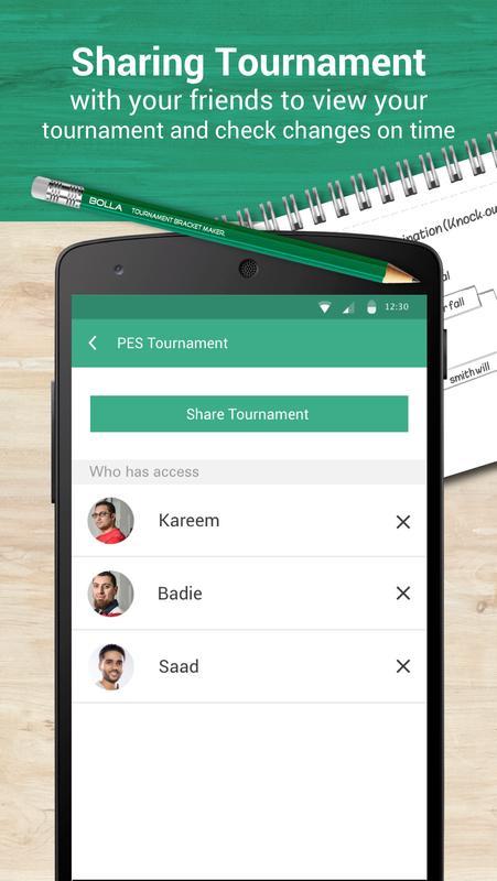 bolla tournament bracket maker apk download free sports app for