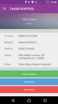 TAKIM KONTROL apk screenshot