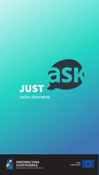 JUST ask LITE poster