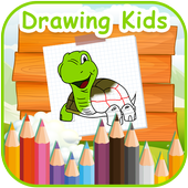 Android Drawing For Kids icon