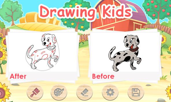 Android Drawing For Kids screenshot 2