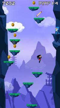 Kenzo - The Jumping Ninja! apk screenshot