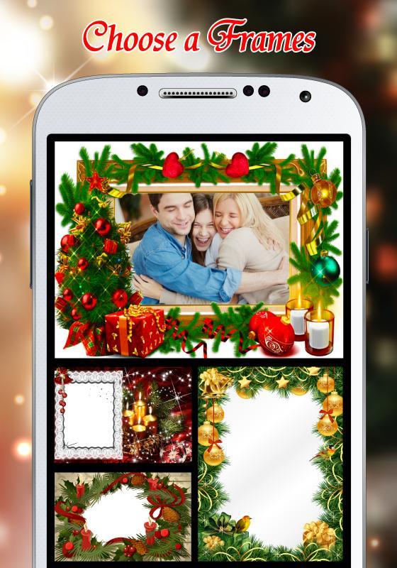 New Year Frame-Christmas Frame poster